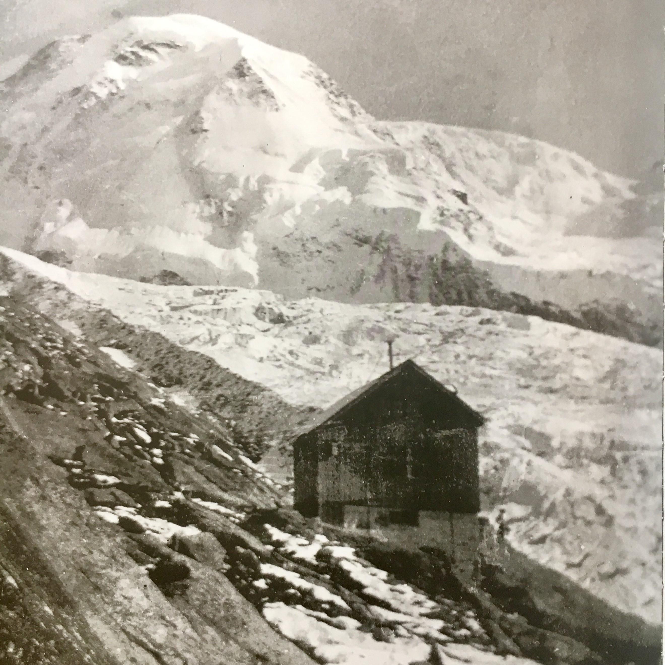 Cabane Bétemps, um 1900
