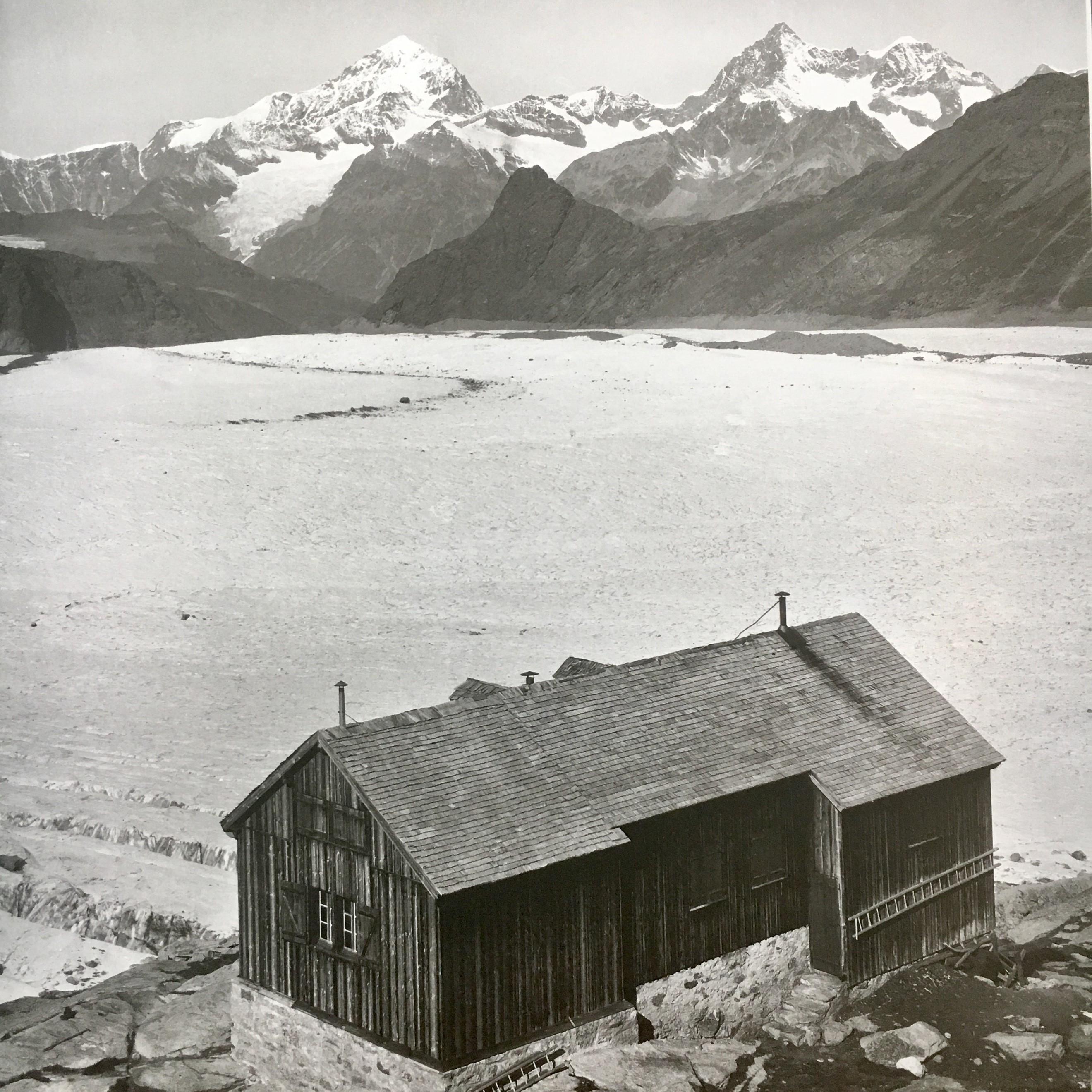 Cabane Bétemps, erster Ausbau, um 1925